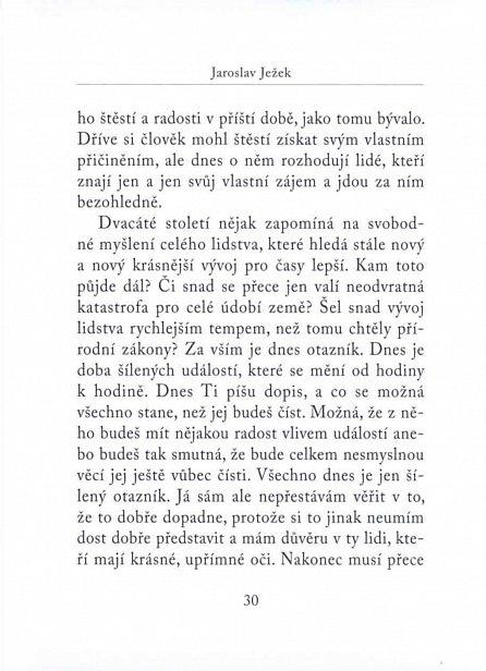 Náhled Dopisy z podzimu 1938