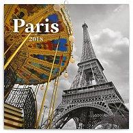 Kalendář poznámkový 2018 - Paříž – Jakub Kasl, 30 x 30 cm