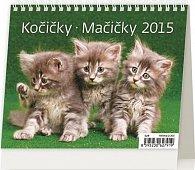 Kalendář stolní 2015 - MiniMax Kočičky