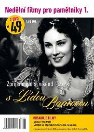 Nedělní filmy pro pamětníky 1. - Lída Baarová - 2 DVD pošetka