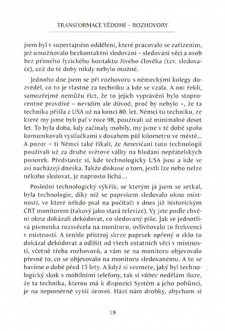 Náhled Transformace vědomí - Rozhovory s Tomášem Keltnerem