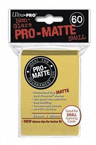 UltraPRO: 60 DP PRO Matte obaly malé  - žlutá