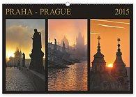 Kalendář 2015 - Praha Exclusive - nástěnný s prodlouženými zády