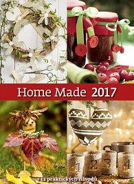Kalendář nástěnný 2017 - Home Made