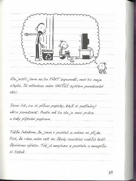 Náhled Deník malého poseroutky 5 - Ošklivá pravda