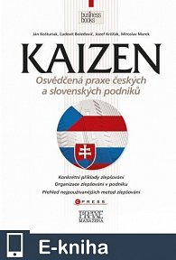 Kaizen - osvědčená praxe českých a slovenských podniků (E-KNIHA)