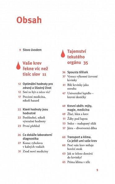 """Náhled Krev - Tajemství """"tekutého"""" orgánu"""