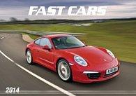 Fast cars - nástěnný kalendář 2014