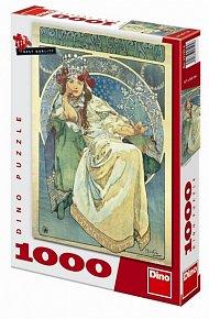 Mucha: Princezna Hyacinta - puzzle 1000