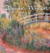 Claude Monet 2011 - nástěnný kalendář
