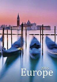 Europe 2016 - nástěnný kalendář