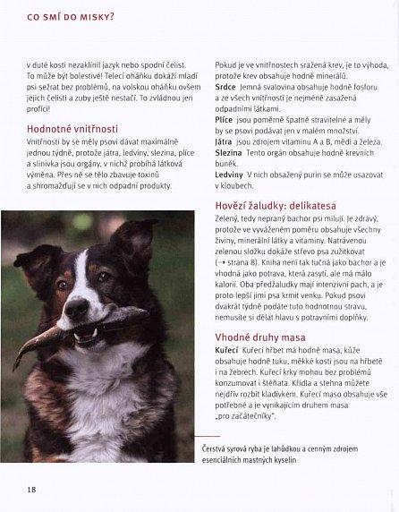 Náhled Barfování pro psy - Zdravé krmení nejlepšího přítele člověka