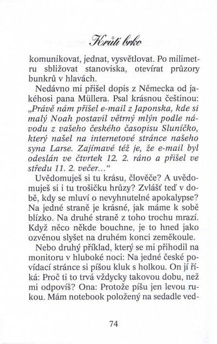 Náhled Krůtí brko - Dopisy z Tramtárie
