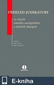 Přehled judikatury ve věcech státního zastupitelství a státních zástupců (E-KNIHA)
