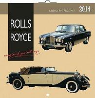 Kalendář 2014 - Rolls-Royce Libero Patrignani - nástěnný poznámkový (ČES, SLO, MAĎ, POL, RUS, ANG)
