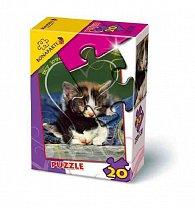 Puzzle 20 - Zvířátka (2 druhy)