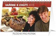 Kalendář 2015 - Vaříme s chutí Václav Vydra a Jana Boušková - stolní