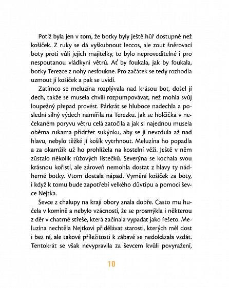 Náhled Meluzína Severýna - Pohádky o čertech, strašidlech a princeznách