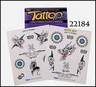 Tetování závěs svítící