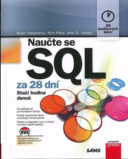 Náhled Naučte se SQL za 28 dní