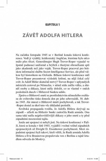 Náhled Rabování - Jak nacisté vykrádali evropské umělecké sbírky