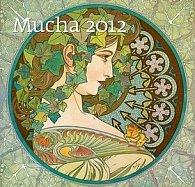 Kalendář nástěnný 2012 - Mucha 340x325