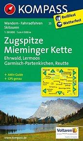 Zugspitze,Mieminger Kette 25 / 1:50T NKOM
