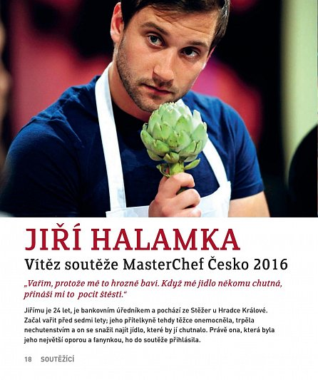 Náhled MasterChef Česko: Kniha receptů