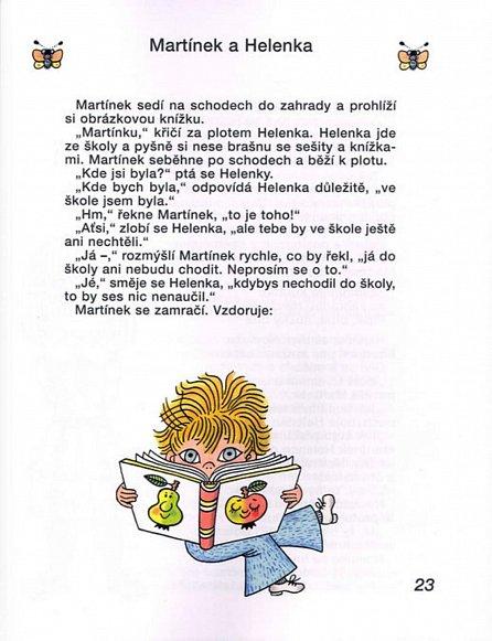 Náhled Martínkova čítanka a dvě klubíčka pohádek