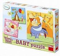 Medvídek Pú - Baby puzzle