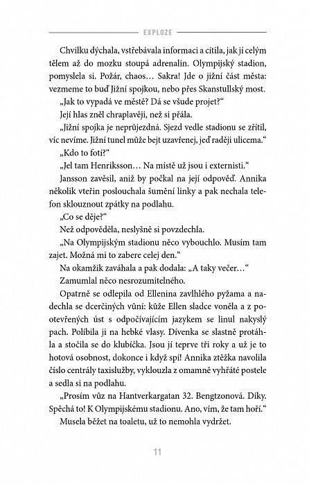 Náhled Annika Bengtzonová 1: Exploze