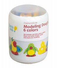 Modelína - kreativní sada Mini set pro modelování - 6 barev