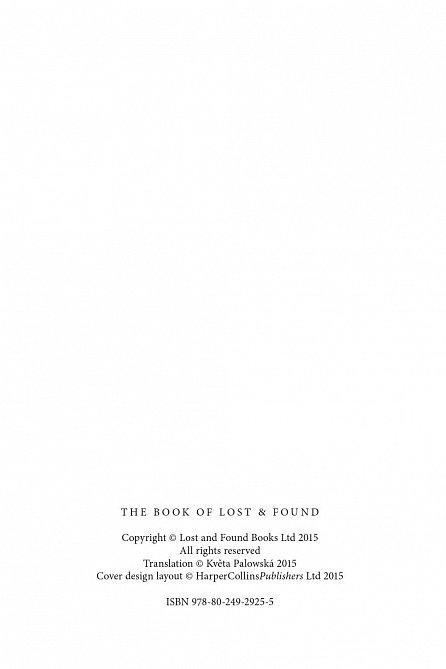 Náhled Kniha ztrát a nálezů