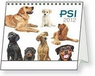 Psi - stolní kalendář 2012