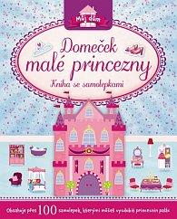 Domeček malé princezny - Kniha se samolepkami