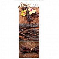 Kalendář nástěnný 2016 - Koření,  33 x 64 cm