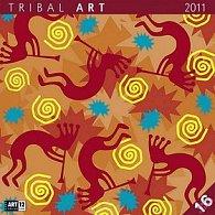Kalendář 2011 - Tribal Art (30x60) nástěnný poznámkový