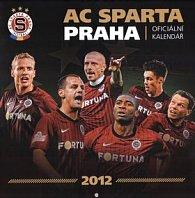 Kalendář nástěnný 2012 - AC Sparta Praha, 30 x 60 cm