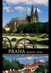 Praha 2010 - nástěnný kalendář