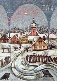 Kalendář 2014 - Art Naive - nástěnný