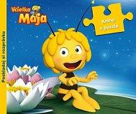 Včieľka Mája Kniha s puzzle