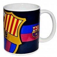 Hrnek keramický - FC Barcelona/černý se znakem