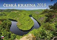 Kalendář nástěnný 2018 - Česká krajina