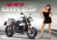 Kalendář nástěnný 2013 - Hot Bikes