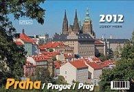 Kalendář 2012 - Praha - týdenní stolní