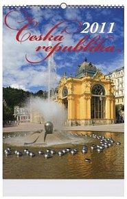 Česká republika 2011 - nástěnný kalendář