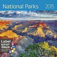 Kalendář nástěnný 2015 - National Parks