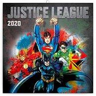 Kalendář poznámkový 2020 - Justice League, 30 × 30 cm