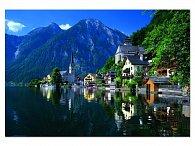 Puzzle Hallstatter jezero, Rakousko, 2000 dílků