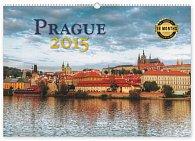 Kalendář 2015 - Praha 18měsíční - nástěnný